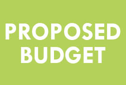 2021-2022 Proposed Budget and Public Hearing Notice